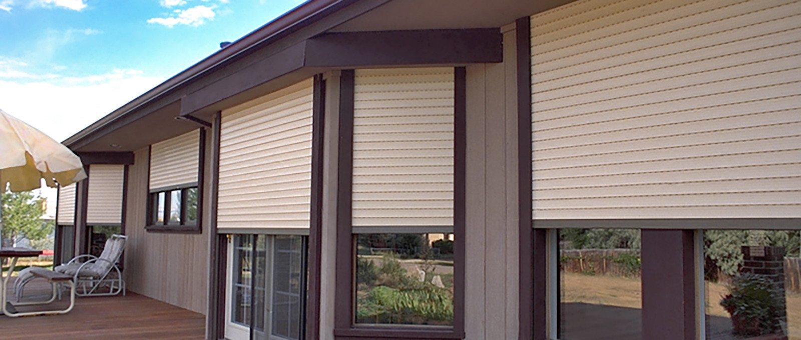 Exterior Rolling Shutters | Innovative Openings for Window Coverings Outside  lp4eri